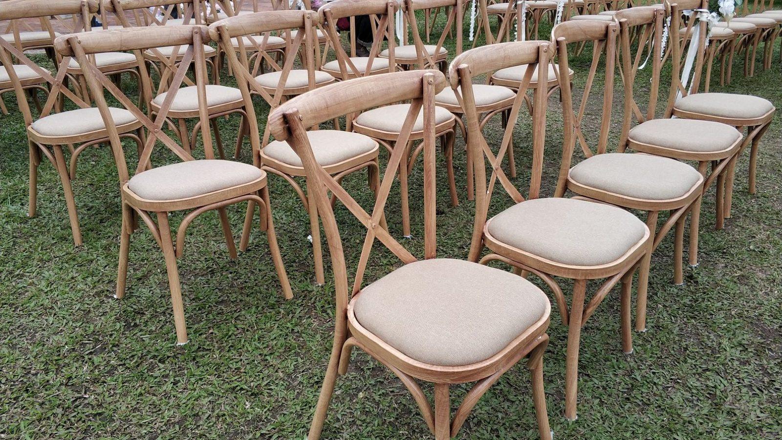 西貢131, 租用木椅, 戶外證婚椅